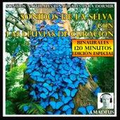 Sonidos Naturales Binaurales para Dormir: Sonidos de la Selva Con las Lluvias de Curación: 120 Minutos Edición Especial by Amadeus