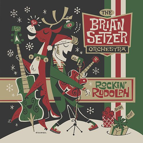 Rockabilly Rudolph by Brian Setzer