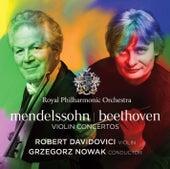 Mendelssohn - Beethoven: Violin Concertos by Robert Davidovici