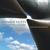 Hindemith: Complete Piano Sonatas by Maurizio Paciariello