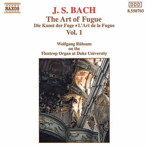 The Art of Fugue Vol. 1 by Johann Sebastian Bach
