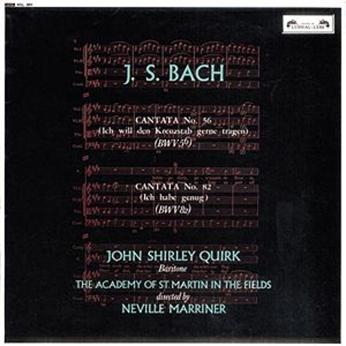 Bach, J.S.: Cantatas Nos. 56 & 82 by Various Artists