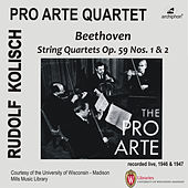 Beethoven: String Quartets, Op. 59 Nos. 1 & 2 (Live) by Various Artists