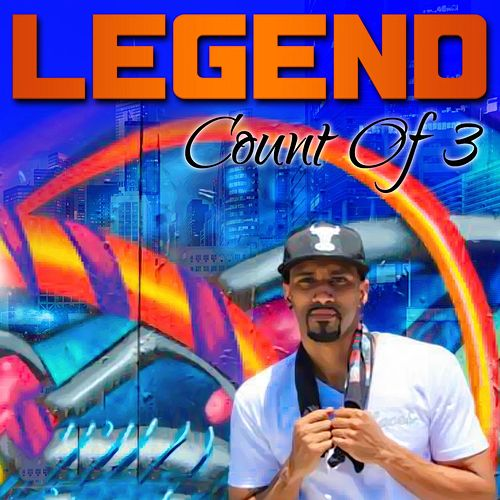 Count of 3 by Legend