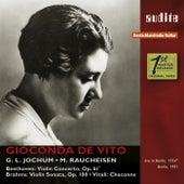 Beethoven: Violin Concerto & Brahms: Violin Sonata No. 2 by Various Artists