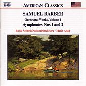Symphonies Nos. 1 and 2 by Samuel Barber