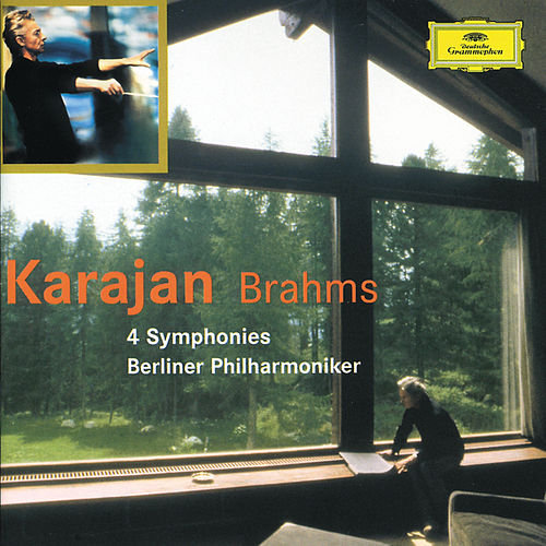 Brahms: The 4 Symphonies by Berliner Philharmoniker