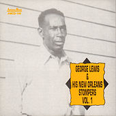 George Lewis and His New Orleans Stompers, Vol. 1 by George Lewis