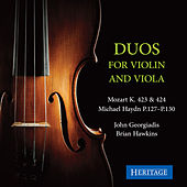 Mozart and Michael Haydn: Duos for Violin and Viola by Brian Hawkins