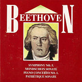 Beethoven , Symphony No. 5, Mondschein Sonate, Piano Concerto No. 1 , Pathétique Sonate by Various Artists