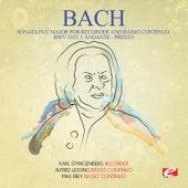 J.S. Bach: Sonata in C Major for Recorder and Basso Continuo, BWV 1033: I. Andante - Presto (Digitally Remastered) by Max Frey