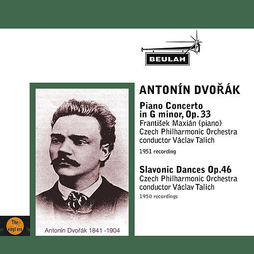 Dvořák: Piano Concerto in G Minor, Op. 33 - Slavonic Dances, Op. 46 by Czech Philharmonic Orchestra