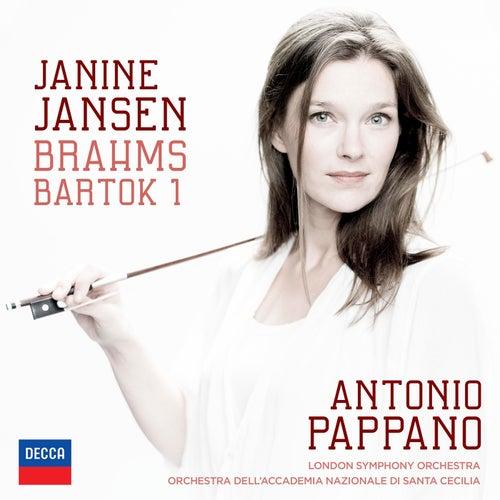 Brahms: Violin Concerto; Bartók: Violin Concerto No.1 by Janine Jansen
