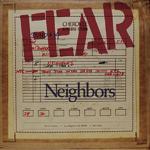 Neighbors (feat. John Belushi) by Fear