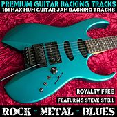 101 Maximum Guitar Jam Backing Tracks Rock Metal Blues (Royalty Free) by Premium Guitar Backing Tracks