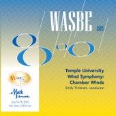 2015 WASBE San Jose, USA: Temple University Chamber Winds (Live) by Temple University Wind Symphony