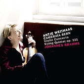 Brahms: Violin Concerto & String Quintet, Op. 111 by Antje Weithaas