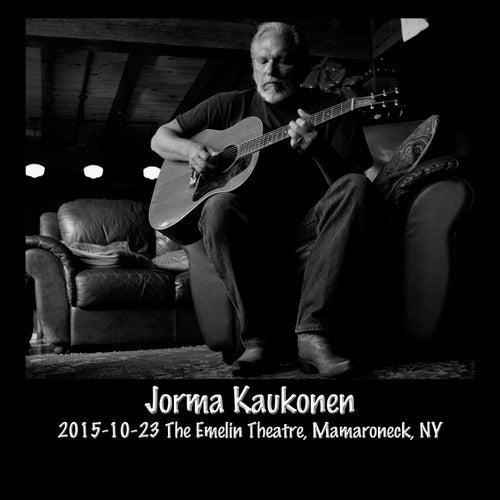 2015-10-23 Emelin Theatre, Mamaroneck, NY (Live) by Jorma Kaukonen
