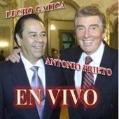 Antonio Prieto y Lucho Gatica en Vivo by Various Artists