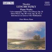 Piano Works by Theodor  Leschetizky
