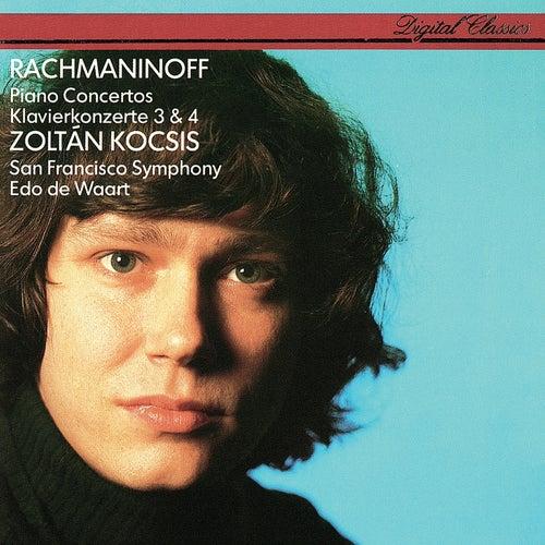 Rachmaninov: Piano Concertos Nos. 3 & 4 von Edo de Waart