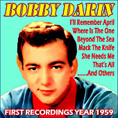 First Recordings Year 1959 by Bobby Darin