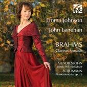 Brahms, Mendelssohn & Schumann: Clarinet Sonatas by Emma Johnson