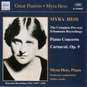 Complete Pre-war Schumann Recordings by Robert Schumann