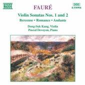 Violin Sonatas Nos. 1 and 2 by Gabriel Faure