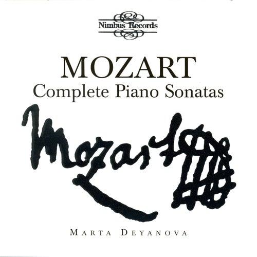 Mozart: Complete Piano Sonatas by Marta Deyanova