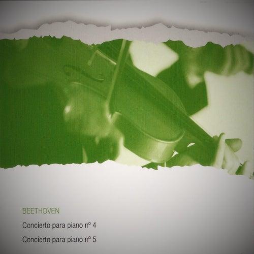 Beethoven, Concierto para piano No. 4, Concierto para piano No. 5 by Walter Gieseking