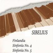 Sibelius, Finlandia, Sinfonía No. 4, Sinfonía No. 5 by Orquesta Philharmonia