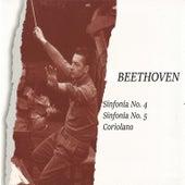 Beethoven, Sinfonía No. 4, Sinfonía No. 5, Coriolano by Orquesta Philharmonia