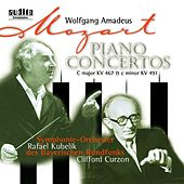 Wolfgang Amadeus Mozart: Piano Concertos No. 21 in C major, KV 467 & No. 24 in C minor, KV 491 by Rafael Kubelik Clifford Curzon