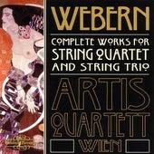 Webern - Complete Works for String Quartet and String Trio by Artis Quartett Wien