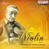 Violin - Kunnakkudi Vaidyanathan, Vol. 1 by Kunnakudi Vaidyanathan