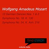 Red Edition - Mozart: Symphony No. 18, K. 130  & Symphony No. 54, K. Anh. 216 by Various Artists