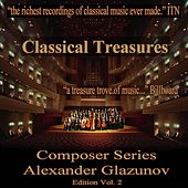 Classical Treasures Composer Series: Alexander Glazunov, Vol. 2 by Various Artists
