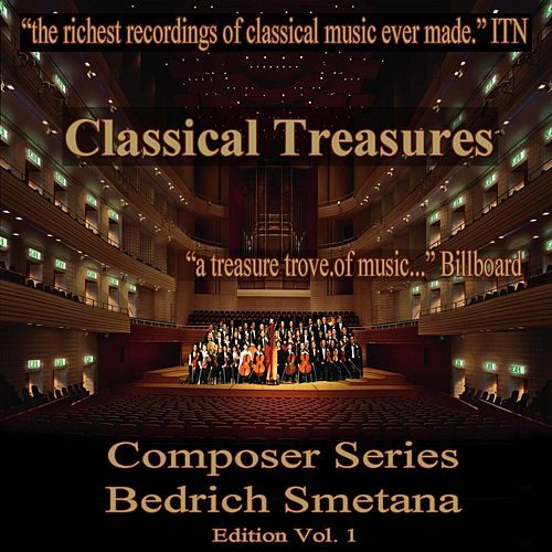 Classical Treasures Composer Series: Bedrich Smetana Edition, Vol. 1 by David Oistrakh