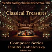 Classical Treasures Composer Series: Dmitry Kabalevsky Edition, Vol. 1 by Various Artists