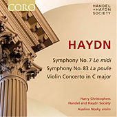 Haydn: Symphony No. 7, Symphony No. 83 & Violin Concerto in C Major by Various Artists