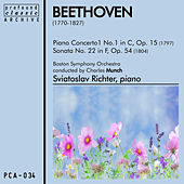 Piano Concerto No. 1 in C, Op. 15 and Sonata No. 22 in F, Op. 54 by Boston Symphony Orchestra