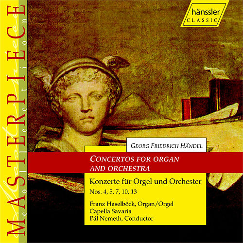 Concertos For Organ And Orchestra by George Frideric Handel