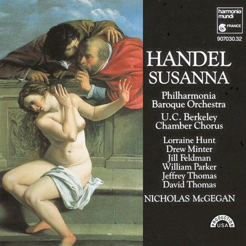 Handel: Susanna by Nicholas McGegan Philharmonia Baroque Orchestra