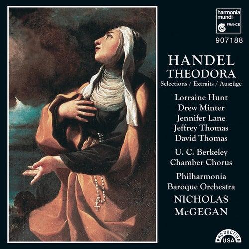 Handel: Theodora by Nicholas McGegan Philharmonia Baroque Orchestra