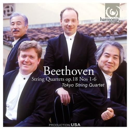 Beethoven: String Quartets Op. 18, No. 1-6 by Tokyo String Quartet