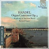 Handel: Organ Concertos, Op. 4 by Richard Egarr