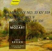 W.A. Mozart: Symphony No. 33 / Serenade No. 9