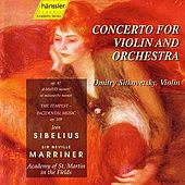 Concerto For Violin And Orchestra by Jean Sibelius