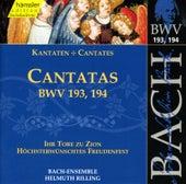 J.S. Bach - Cantatas BWV 193, 194 by Bach-Collegium Stuttgart